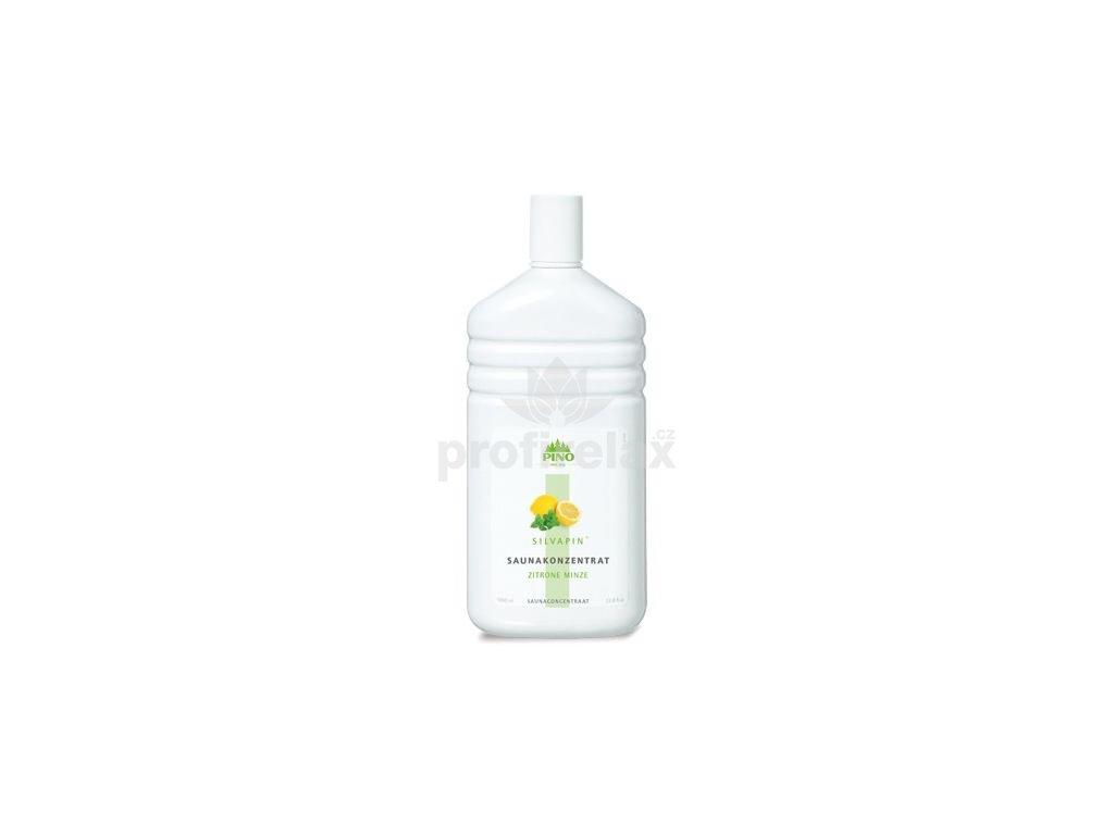 Esence pro sauny Silvapin Citron-Máta 1000 ml