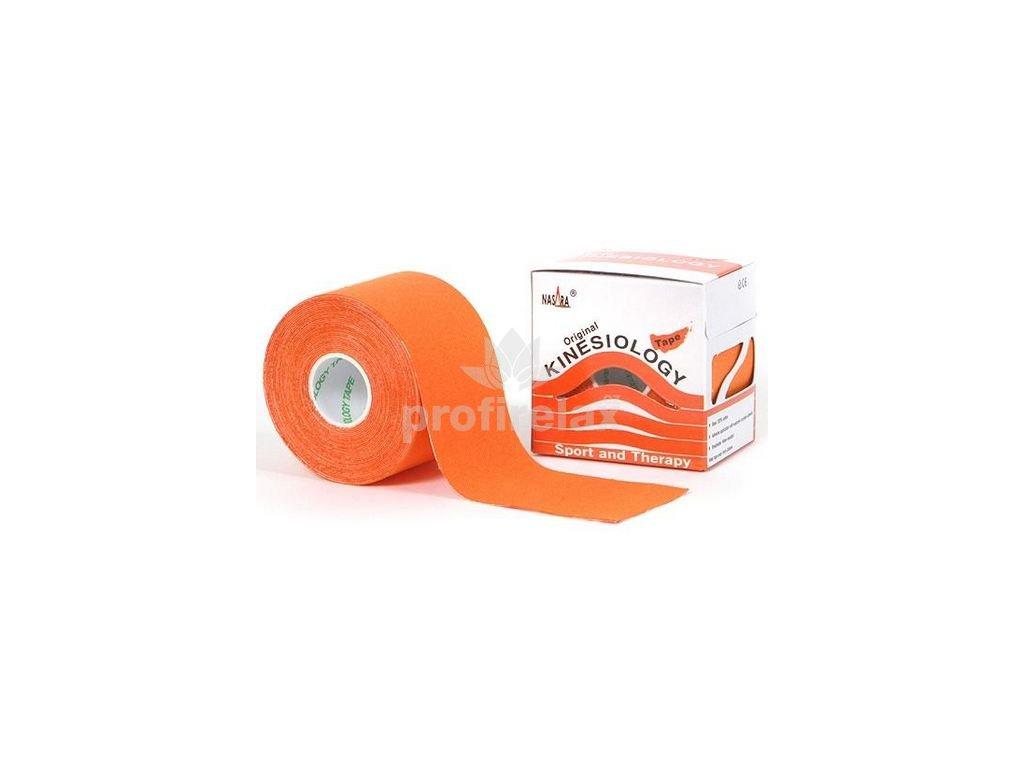 NASARA Tejp oranžový 5 cm x 5 m