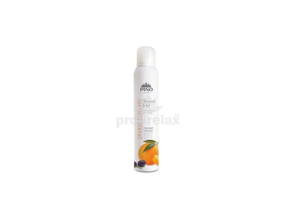 Aroma sprchová pěna Pomeranč-olivový olej 200 ml