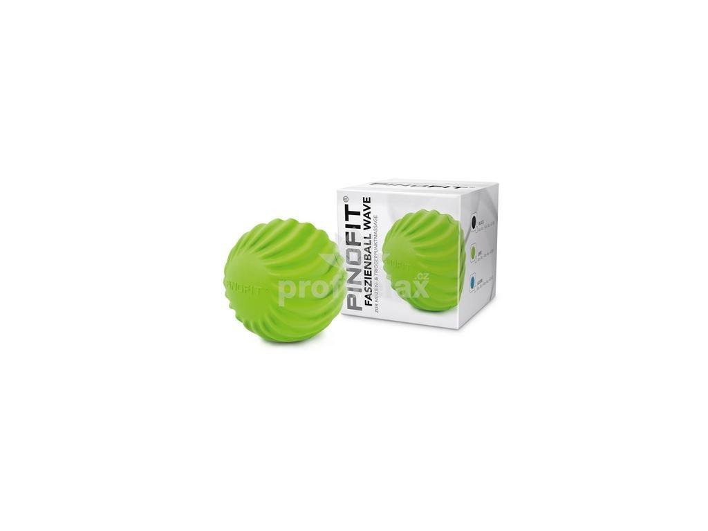 PINOFIT ® fasciální míček s vlnami zelený