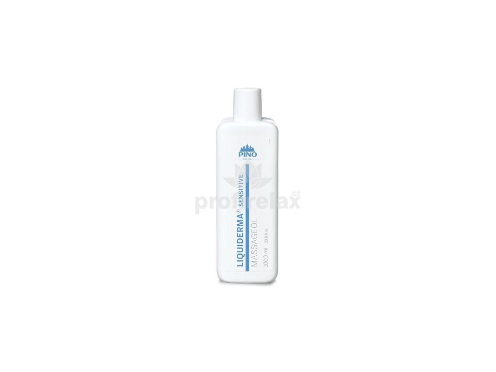 Liquiderma ® Sensitive, masážní olej 1000 ml