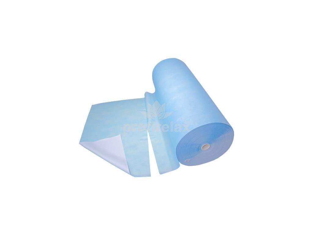 Netkaná textilie hygienická s perforací, bílá, šíře 80cm x 300m
