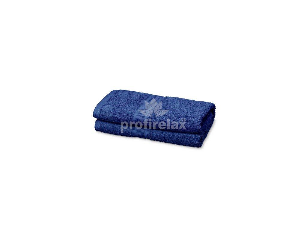 Kvalitní froté osuška ze 100% bavlny, modrá
