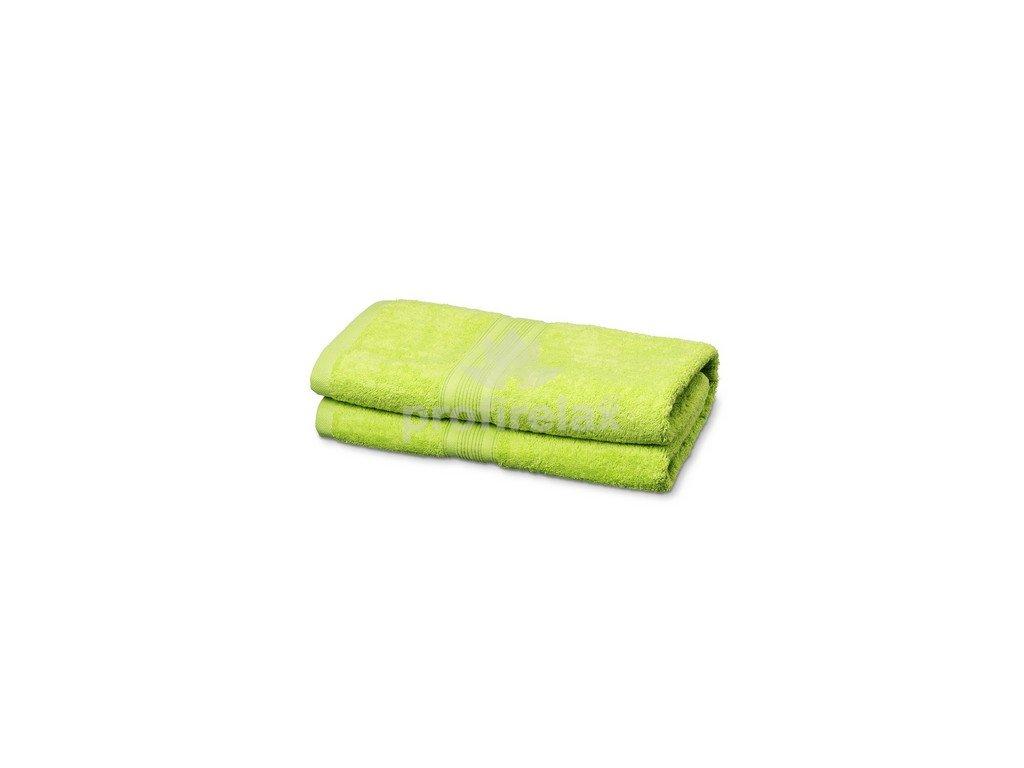 Kvalitní froté osuška ze 100% bavlny, zelená