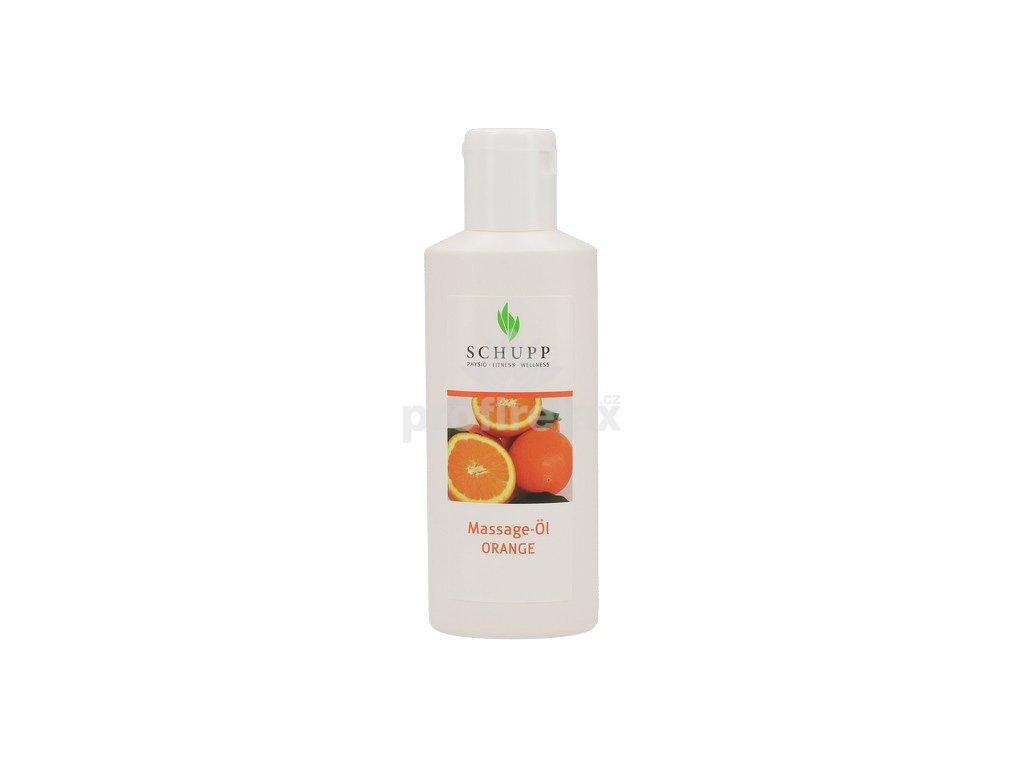 Masážní olej Pomeranč SCHUPP 200 ml
