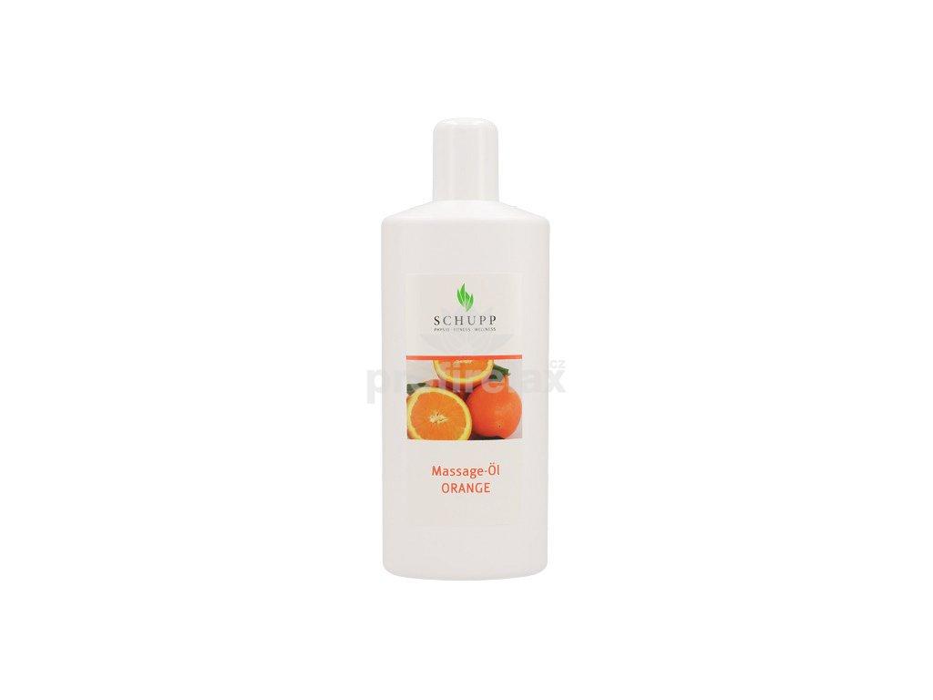 Masážní olej Pomeranč SCHUPP 1000 ml