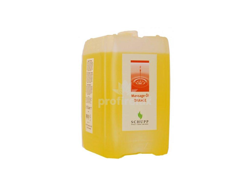 Masážní olej SCHUPP pomeranč 5000 ml Profirelax.cz