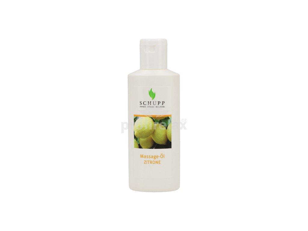 Masážní olej Citron SCHUPP 200 ml