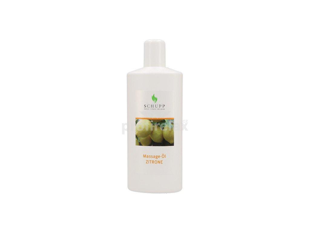 Masážní olej Citron SCHUPP 1000 ml