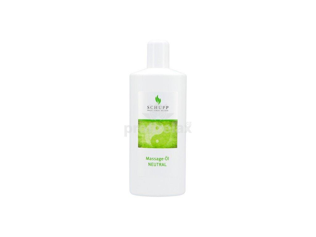 Masážní olej Neutrální SCHUPP 1000 ml