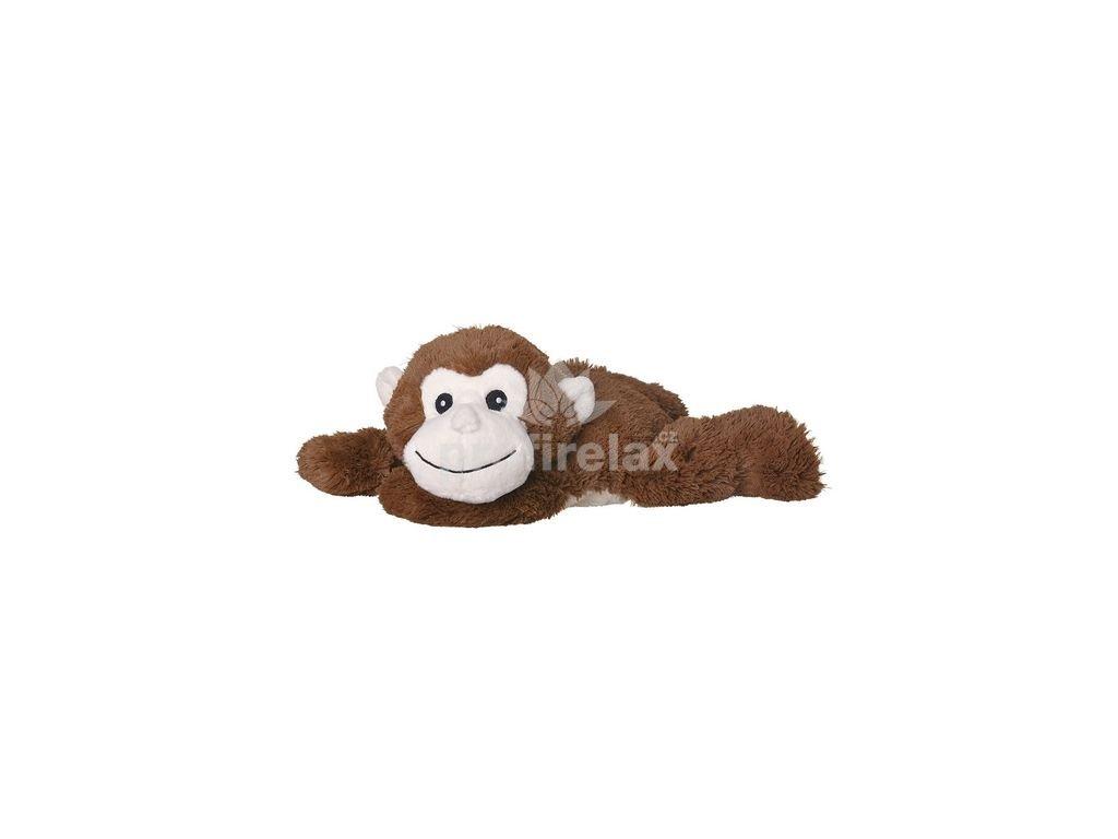Velký hřejivý plyšák  - ležící opička - Welliebellies ®