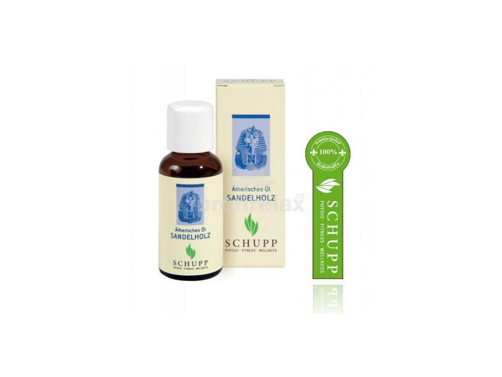 Éterický olej Santalové dřevo 30 ml
