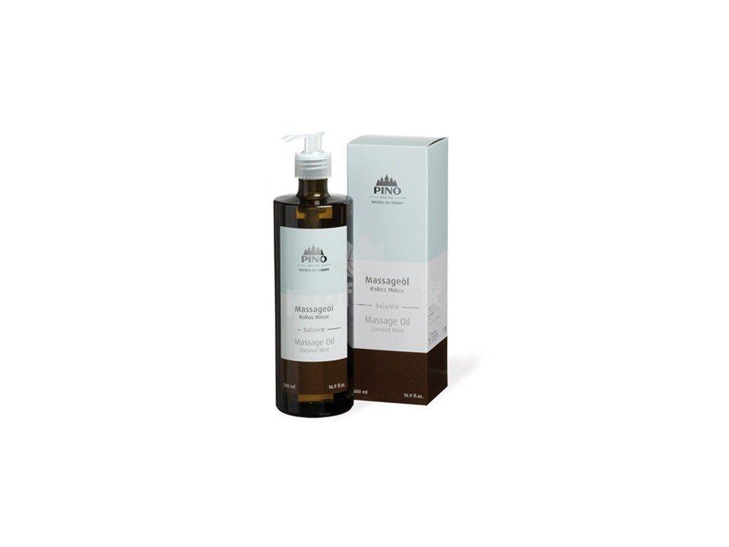 Aromatický masážní olej Kokos-Máta 500 ml