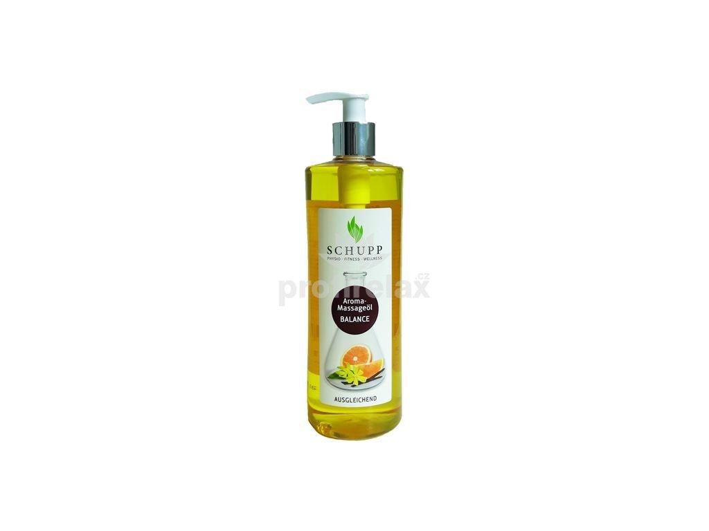 Aromatický masážní olej BALANCE 500 ml