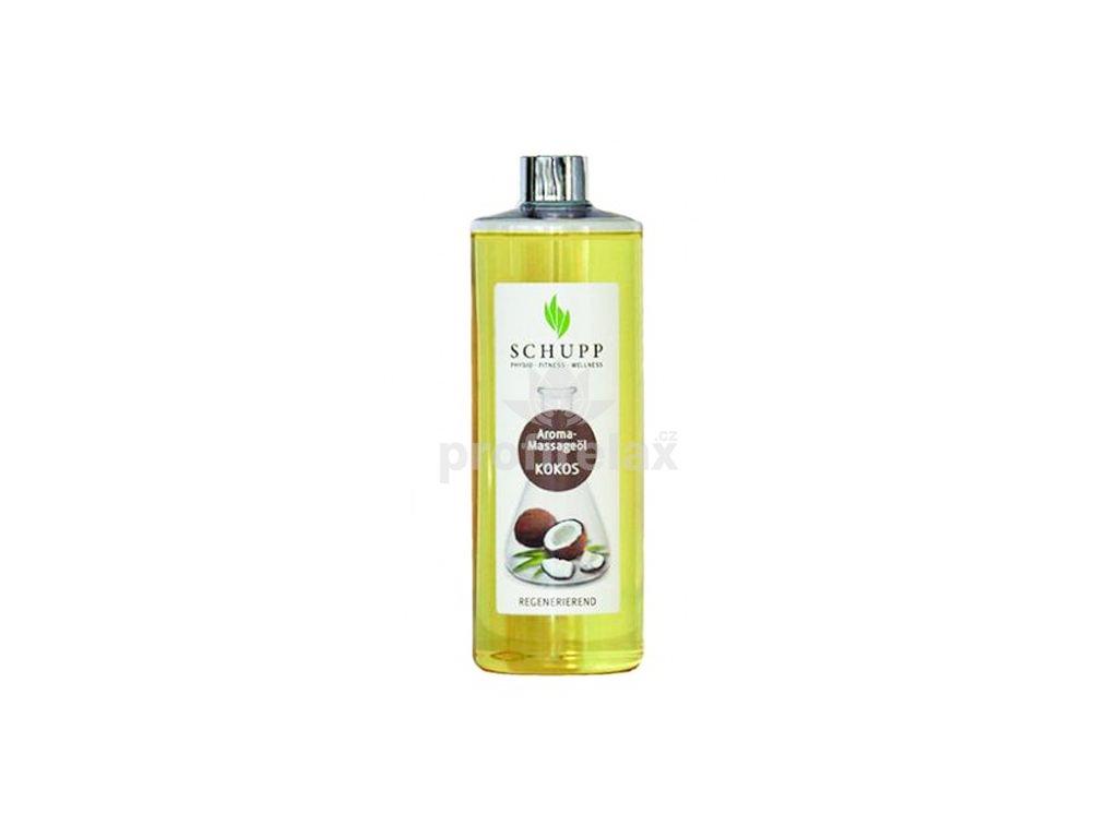 Aromatický masážní olej Coconut 500 ml