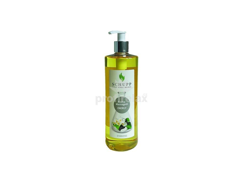 Aromatický masážní olej ENERGY 500 ml
