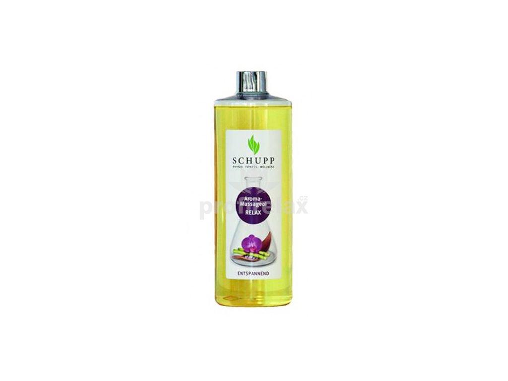 Aromatický masážní olej RELAX 500 ml + dávkovač
