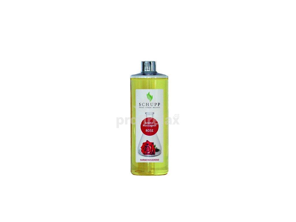 Aromatický masážní a tělový olej Růže 500 ml