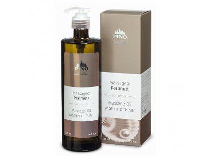 Aromatický masážní olej Perleť 500 ml