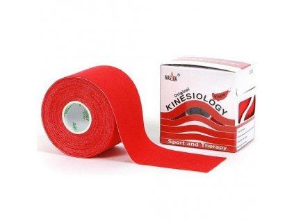NASARA Tejp červený 5 cm x 5 m