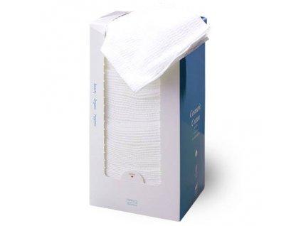 Kosmetické čistící kapesníčky Cotton Plus 20x20 cm, box 100 ks