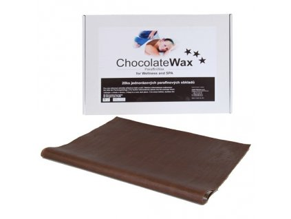 Jednorázový parafínový zábal Čokoláda 20 ks