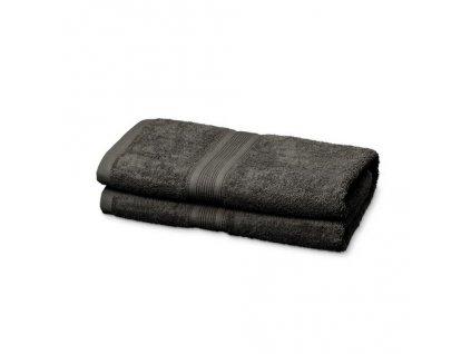 Kvalitní froté osuška ze 100% bavlny, antracit