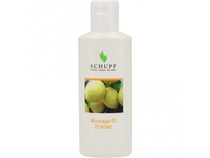 Masážní olej SCHUPP citron 200 ml Profirelax.cz