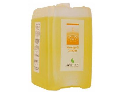 Masážní olej SCHUPP citron 5000 ml Profirelax.cz