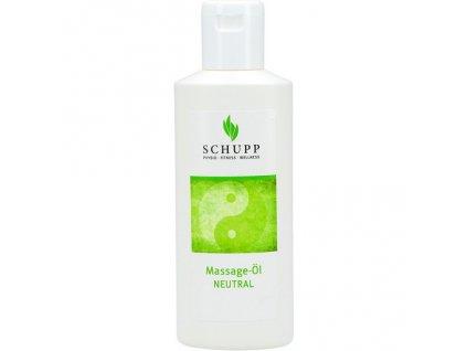 Masážní olej Neutrální SCHUPP 200 ml