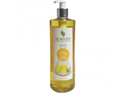 Aromatický masážní olej citrusy-rozmarýn ACTIVE 500 ml