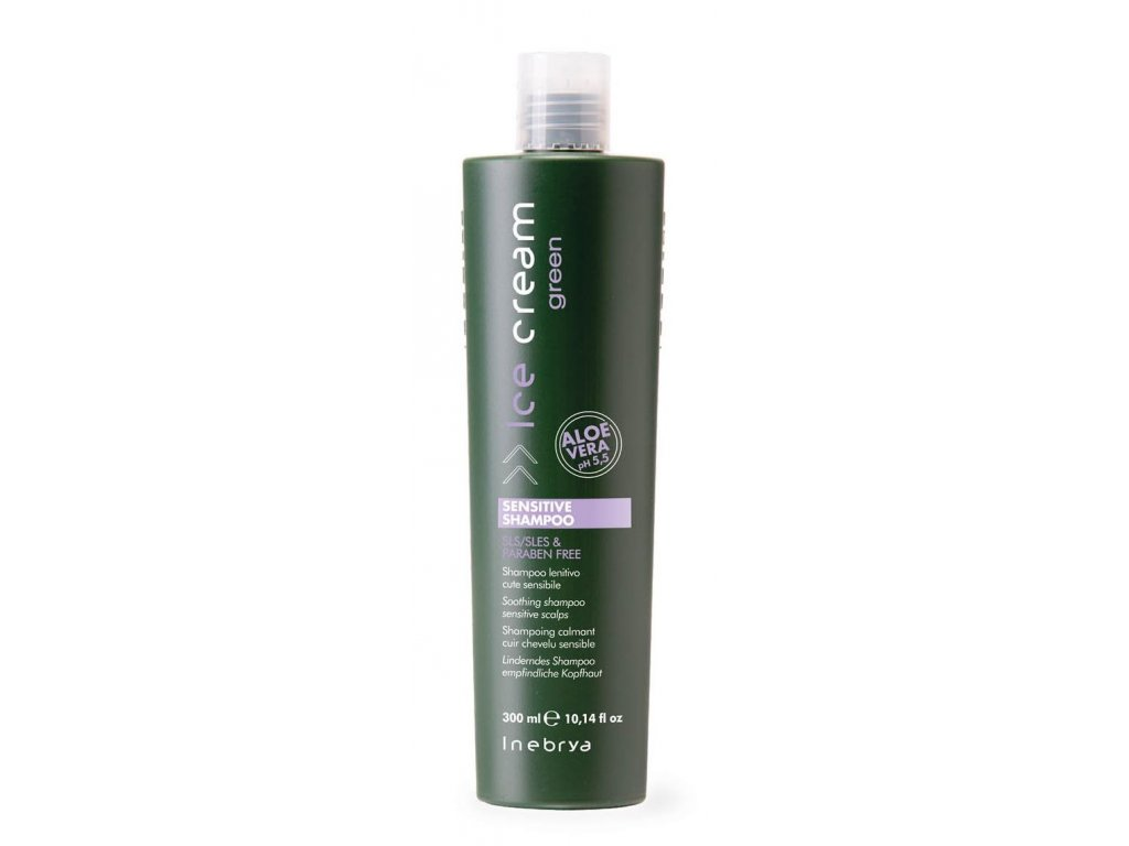 green SENSITIVE SHAMPOO INSHA06797 detail 300ml