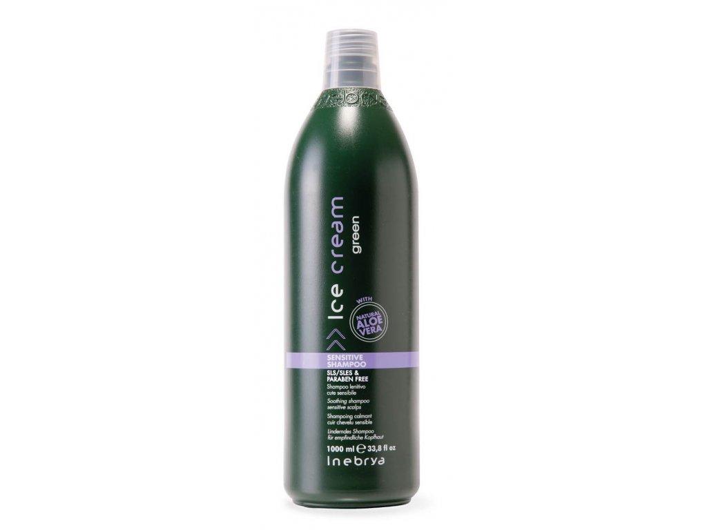 green SENSITIVE SHAMPOO INSHA06797 detail 1000ml