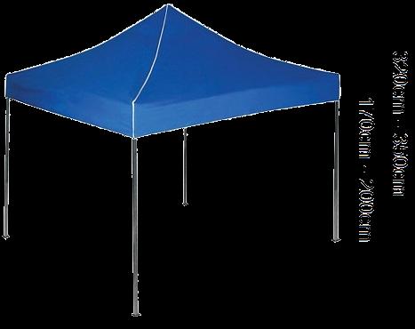 Nožnícový stan PROFITENT PLUS 3x3m