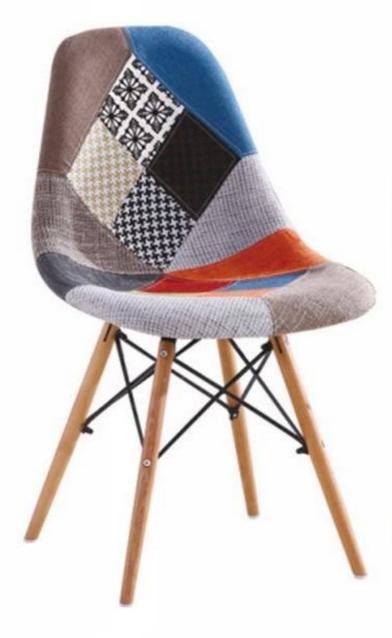 Stoličky PATCHWORK škandinávsky štýl