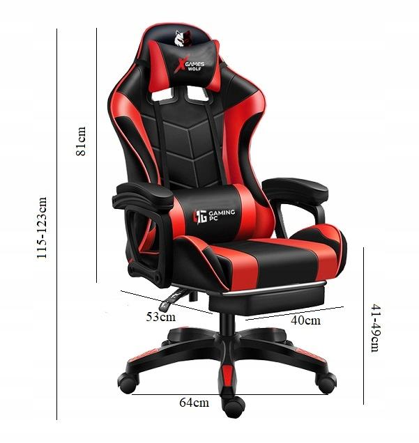 Fotel-Gamingowy-PRO-Gracza-Obrotowy-MASAZ-GRATIS-Szerokosc-mebla-55-cm