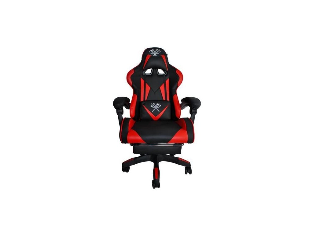 pol pl Fotel gamingowy czarno czerwony MALATEC 13837 1