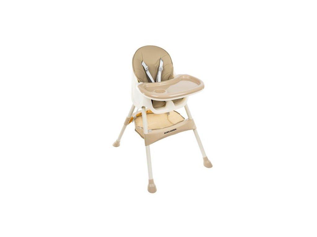pol pl Krzeselko do karmienia KRUZZEL bezowe 14941 1