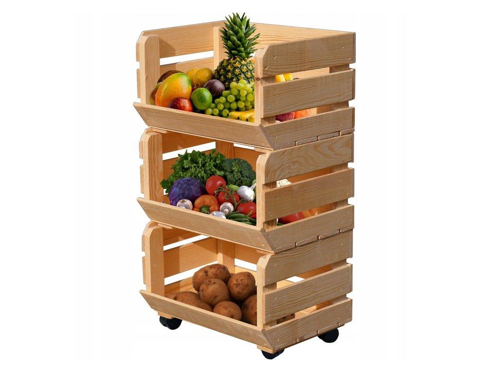 regál na ovocie a zeleninu