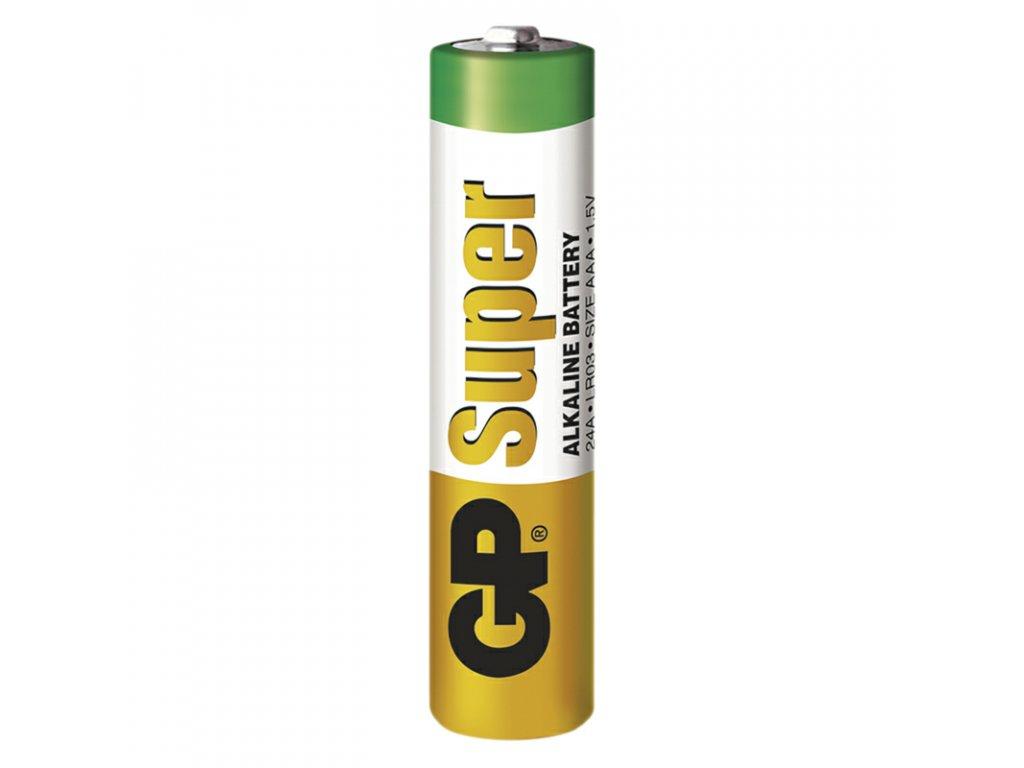 Alkalická batéria GP Super Alkaline LR03 (AAA)
