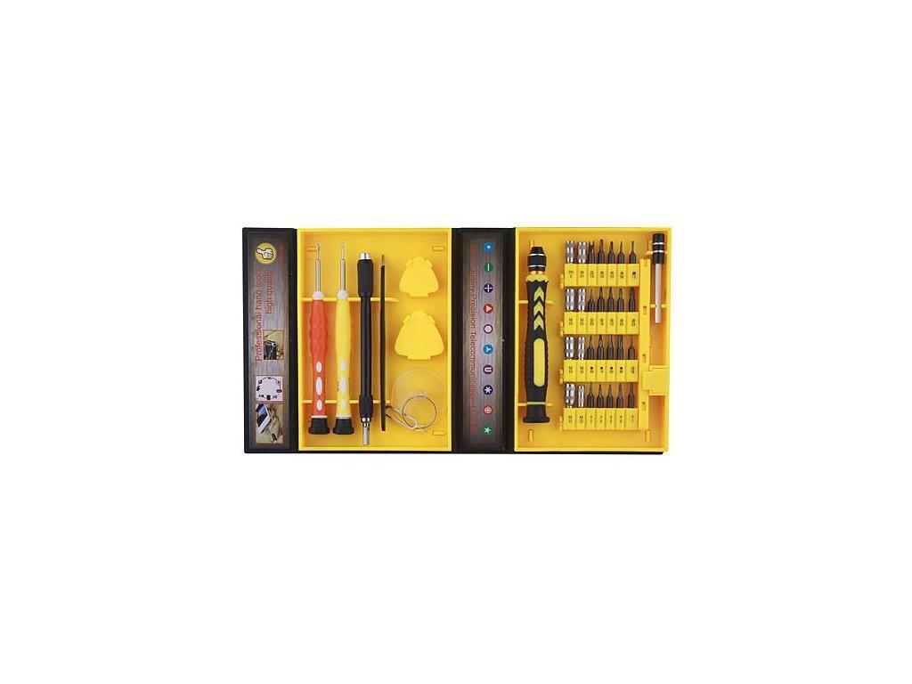 Sada hodinárskych skrutkovačov BST-8920, 36 dielna, mini, náradie na opravu mobilov