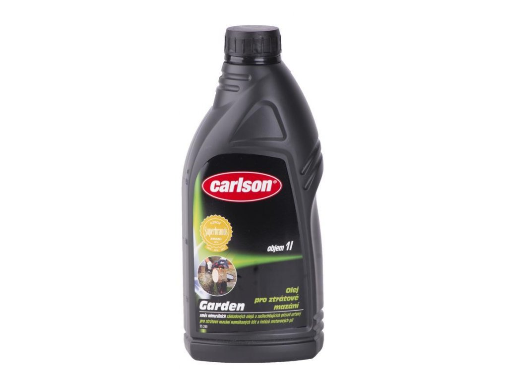 Olej carlson® 1000 ml, na mazanie reťaze motorových píl