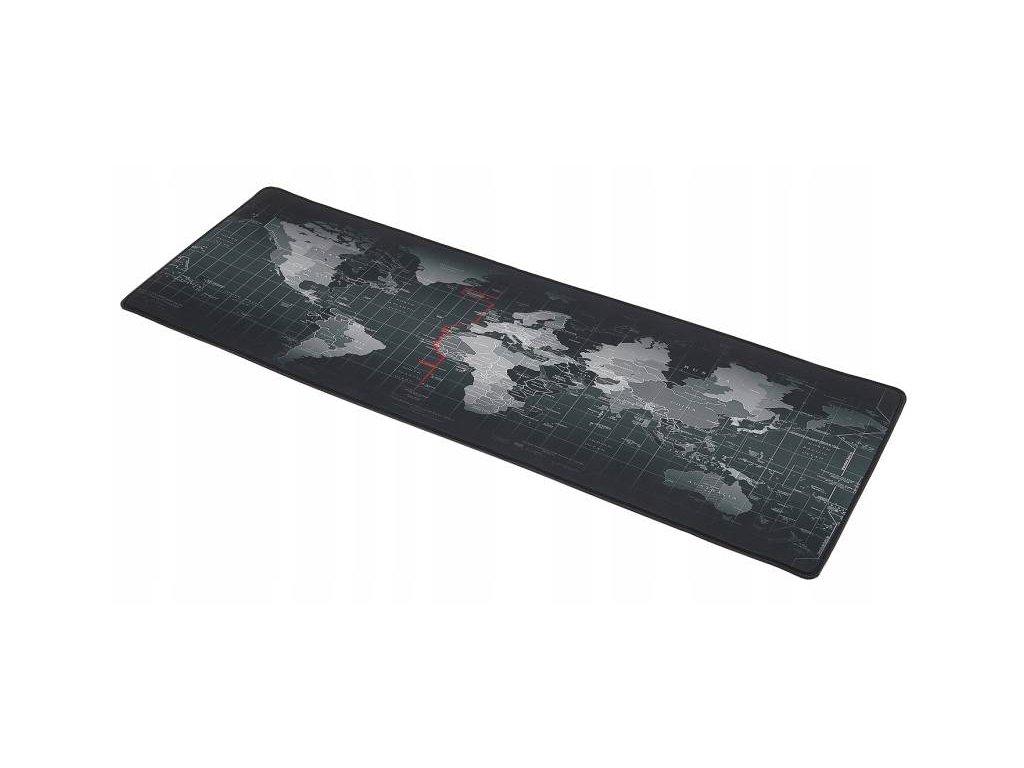 Podložka pod myš mapa sveta 29.5 x 87.5cm