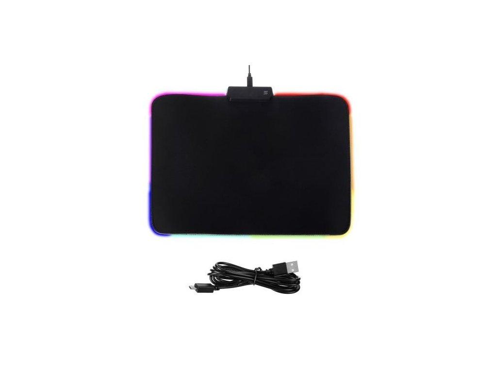 cze pl Herni podlozka pod mys LED podsvicena 15023 7