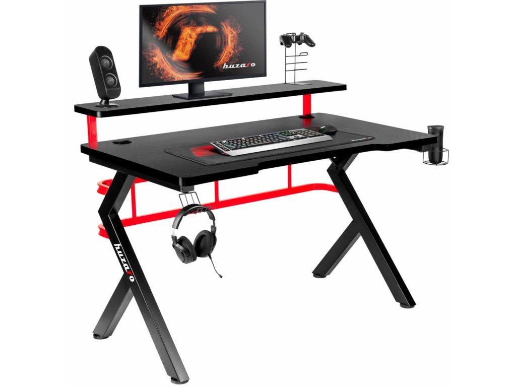 Herný stôl HUZARO HERO 5.0 RED