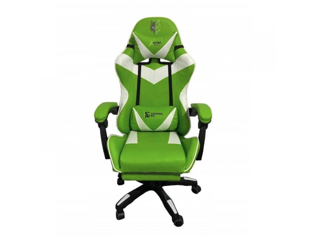 Herná stolička FG01 zelená