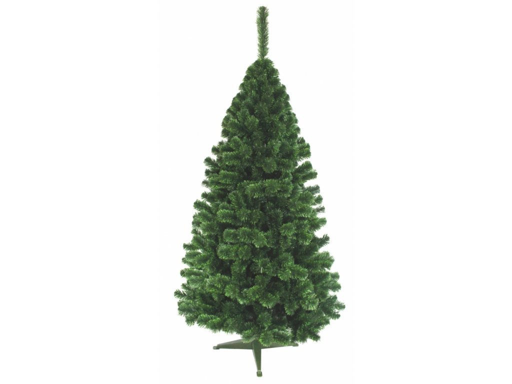 Jedlička LUX so zelenými koncami 180 cm