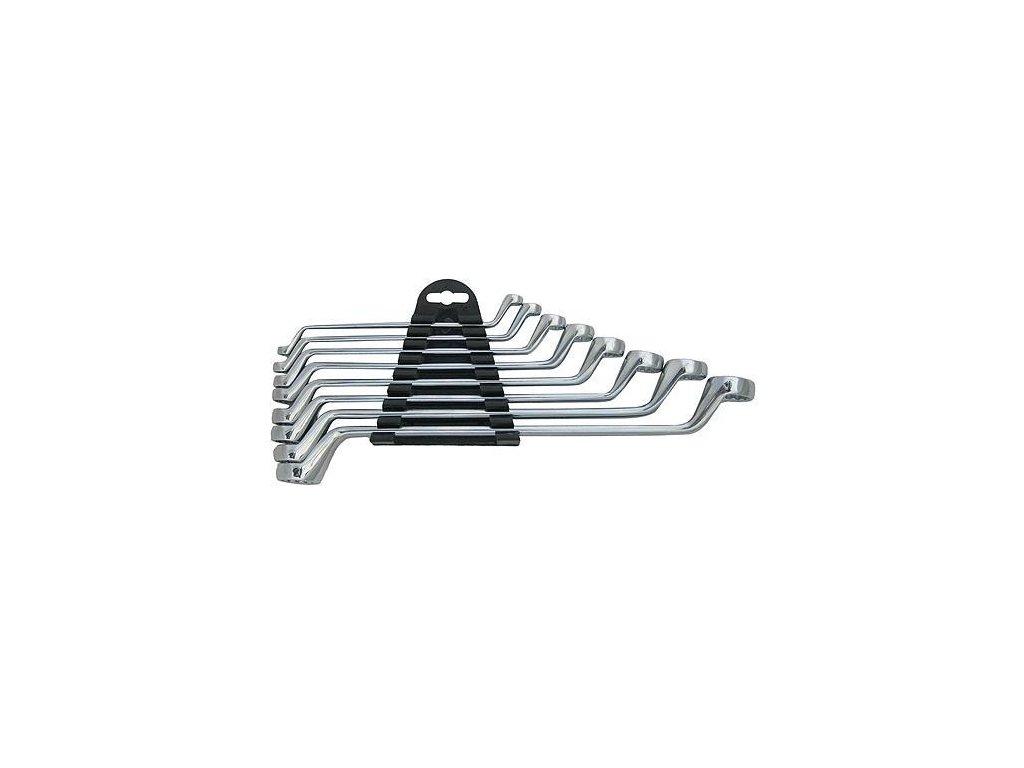Sada kľúčov Strend Pro HR32581 8 dielna, Cr-V, 6-22 mm, očkové, vyhnuté 75°