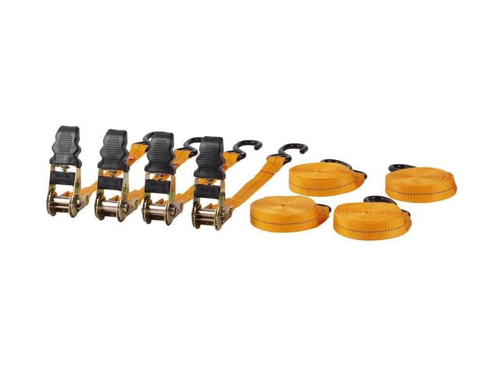 """Popruh upínací Strend Pro TRS-718, 1"""", L-4.5 m, bal. 4 ks, max. 125 kg"""