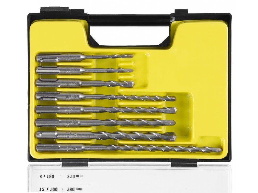 Sada vrtákov Strend Pro SD051, 8 dielna, 5-10 mm, SDS+